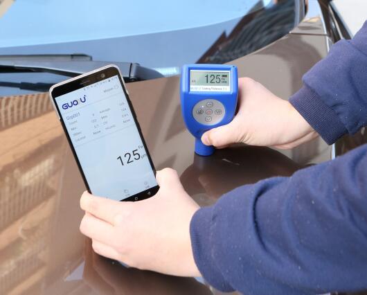 【测厚仪知识】涂层测厚仪如何测量出二手车补过漆?