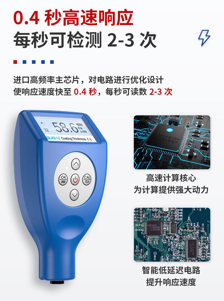 GTS810F藍牙涂層測厚儀功能